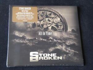 Stone Broken - All In Time (SEALED NEW CD WITH 6 BONUS TRACKS 2019)