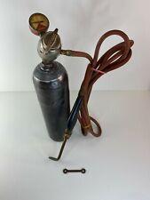 Prest O Lite Vintage Acetylene Tank Amp Regulator Welder
