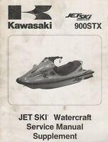 1999 KAWASAKI JET SKI 900STX SERVICE MANUAL SUPPLEMENT 99924-1242-51 (645)