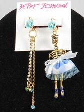 Skeletons & Skulls Crystal Drop/Dangle Fashion Earrings