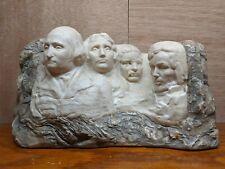 Mount Rushmore Sculpture Statue Figurine 1967 Museum Alva Studios Signed Artist