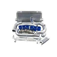 CXRacing Intercooler Kit For 93-02 Toyota Supra MKIV 2JZ-GTE Factory Twin Turbo