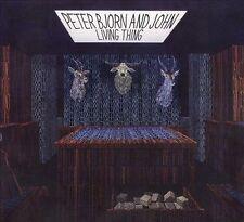 FREE US SHIP. on ANY 2 CDs! NEW CD Peter Bjorn & John: Living Thing