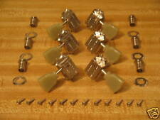 Gibson Nickel Deluxe Tuners w/ Green Keys & Mounts