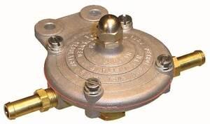 Malpassi Petrol King Low Pressure Fuel Regulator for Carburettors 8mm Tails