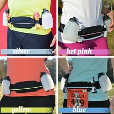 Spibelt Venture Hydration Belt For Endurance Runners - with 2 detachable bottles