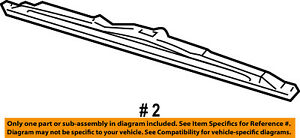 FORD OEM Wiper Arm-Front Blade 8L1Z17528A