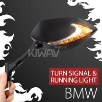 VAWiK LED mirrors Lucifer Indicator + Running 1.5pitch 10mm for BMW F800 twins