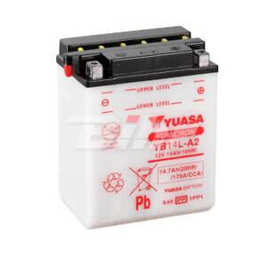 Batería Yuasa YB14L-A2 Combipack (con electrolito)