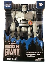 The Iron Giant figure Large New - walks lights/sound Walmart exclusive!
