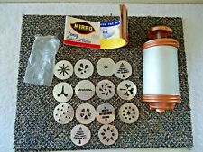 """Vintage Mirro Cookie Press With Accessories """" GREAT COLLECTIBLE ITEM """""""