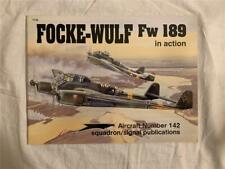 Squadron Signal Focke-Wulf Fw189 In Action #1142 VERY GOOD CONDITION!