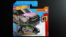 HOT WHEELS Fiat 500 schwarz 1:64 Mattel 8GT9E 2/5 #2 - NEU - OVP