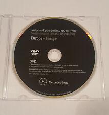 2017-2018 Mercedes NTG1 COMAND Sat Nav Disc Map Update DVD UK & Europe