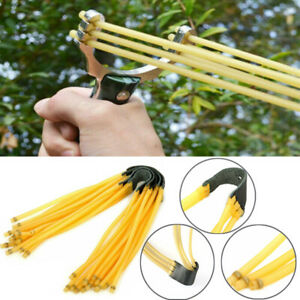 5PCS Elastic Bungee 3 Rubber Bands for Slingshot Catapult Outdoor Hunting