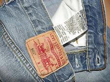 """Levis 501 Jeans W30"""" L34"""" Straight Fit (originale) 550"""