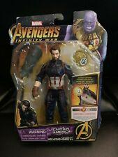 "Hasbro Marvel Avengers Infinity War Hero Vision Captain America 6"" Figure New"