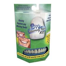INSTANT SMILE TEETH REPLACEMENT KIT fast & easy replace missing tooth temporary
