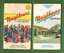 #D425.   1988  TWO(2)  NEIGHBOURS TV SHOW  BOOKS - FIRST & THIRD