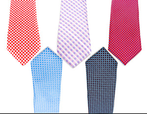 SUIT LAB - Baby Boys Checkered Necktie | Formal Tuxedo | Christening Wedding