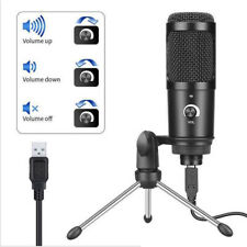 Professional USB Condenser Microphone Studio Sound Recording Mic w/Stand Tripod