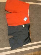 2 Pairs Size 36 Shorts Columbia & Field Stream $105 Value NWT