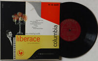AN EVENING WITH LIBERACE–COLUMBIA CL-6239– 10 INCH 33 RPM VINYL LONG PLAY ALBUM