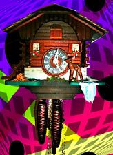 Loetscher Swiss Chalet Cuckoo Clock #5