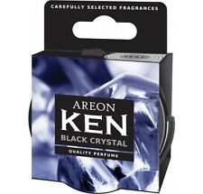 6 x Areon Ken Car Air Freshener Black Crystal Scent Air Purifier Perfume Scents