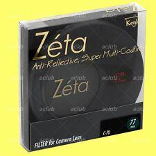 Genuine Kenko 77mm Zeta CPL Circular Polarizing filter CIR C-PL(W) Polarizer