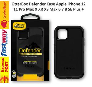 ⭐ OtterBox Defender Case Apple iPhone 12 11 Pro Max X XR XS Max 6 7 8 SE Plus +