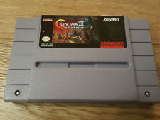 Contra III (3) The Alien Wars  - US-Version - SNES Super Nintendo NTSC
