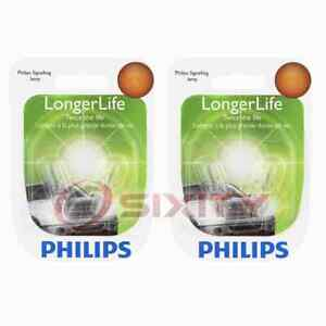 2 pc Philips 161LLB2 Long Life Multi Purpose Light Bulbs for Electrical ly