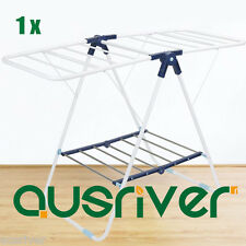 Brand New Portable Light Indoor Clothes Home Airer Drying Rack Garment Hangers
