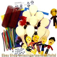 People Wooden Spoons Kit Class Pack Pack of 10