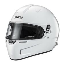 FIA SNELL Helmet Sparco Air Pro RF-5W White Full Face Racing Composite