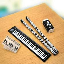 Music & Christmas Themed Stationery Set - 5 Piece Set