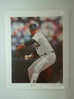 "Nolan Ryan Lithographed Poster.#782/990 17""×21"" Origional medium:Watercolor 1990"