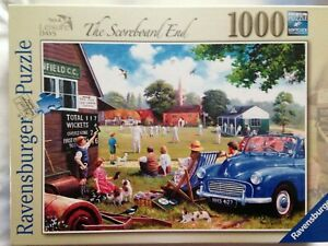 Brand New Ravensburger 1000 Piece Jigsaw Puzzle - THE SCOREBOARD END