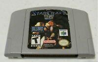 StarCraft 64 Nintendo 64 N64 Video Game