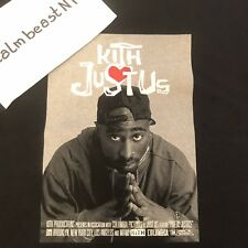 Kith Poetic Justice Tee Black Tupac 2018 Extra-Small XS