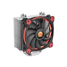 ThermalTake riing silencieux rouge 12 cpu cooler avec rouge 12cm riing fan, upto 150w