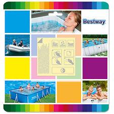 Bestway Inflatable Pool & Spa Underwater Adhesive Repair Patches - Pack of 10