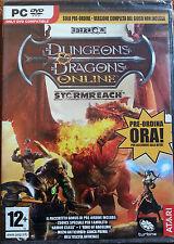 Dungeons dragons online stormreach pc dvd rom gioco nuovo sigillato  pre ordine