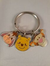 New Disney 3 Charm Eeyore Winnie The Pooh And Tigger Keychain