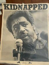 New listing 1960's Bobby Seale Black Panther Party Poster