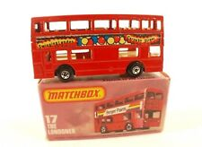 Matchbox Superfast 75 n° 17 bus The Londoner Carnaby street neuf en boite/inbox