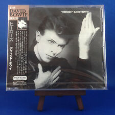 DAVID BOWIE: Heroes (EXTREMELY RARE 1999 JAPANESE 24bit Remaster CD TOCP-65315)