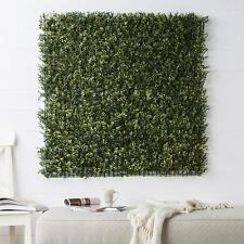 Artificial New Growth Boxwood Green Wall Foliage