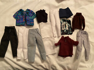 Lot of clothes for Fashion Royalty homme or Ken dolls  - shirts pants